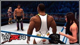 WWE 2K14 DLC 2 Mixed Tag Team Match: Fandango & Summer