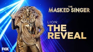 The Lion Is Revealed   Season 1 Ep. 8   THE MASKED SINGER