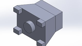 SolidWorks2015 Extrude Boss Sample 3