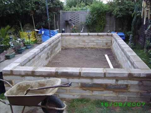 building a pond 2007