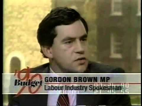 Gordon Brown 1990