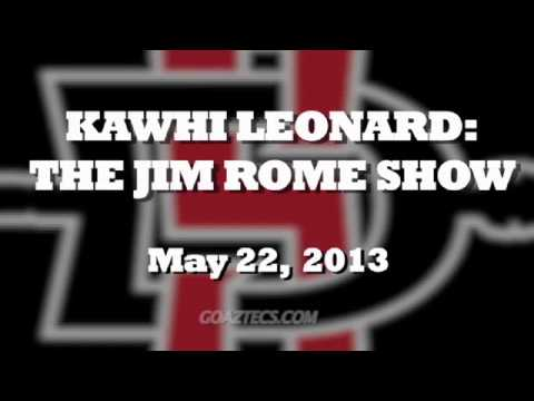 SDSU MEN'S HOOPS: KAWHI INTERVIEW INTERVIEW - 5/22/13