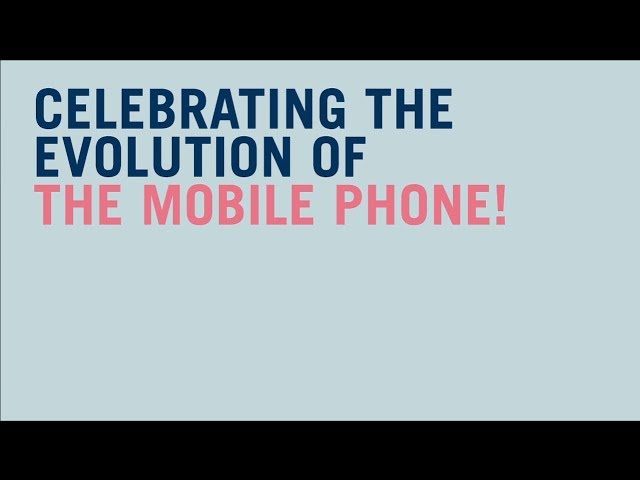 Happy Birthday Mobile Phone - Carphone Warehouse