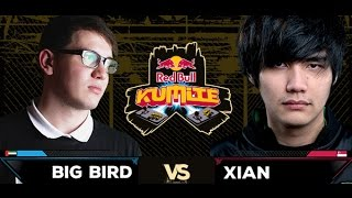 Red Bull Kumite 2016 : Xian vs. Big Bird - Losers Round 2
