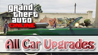 GTA 5 ONLINE HOW TO UNLOCK ALL CAR UPGRADES FAST