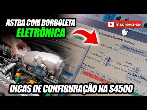 Dicas sobre INJEPRO S4500 - Astra Turbo com Borboleta Eletrônica
