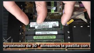 Portátil. Ampliar Memoria RAM Tipo SO-DIMM