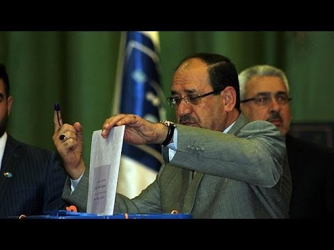 Iraq PM encourages voting in first election since US withdrawal