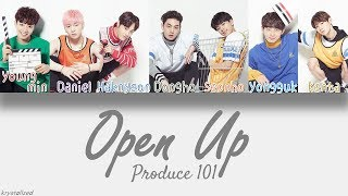 [Produce 101] Knock - Open Up (열어줘) [HAN|ROM|ENG Color Coded Lyrics]