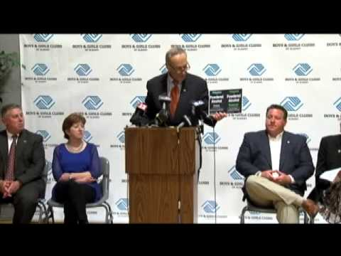 Schumer speaks out about Palcohol