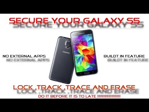 how to use mobile tracker in samsung