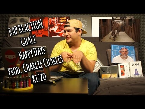 youtube video RAP REACTION • Ghali - Happy Days (Prod. Charlie Charles) • Rizzo to 3GP conversion