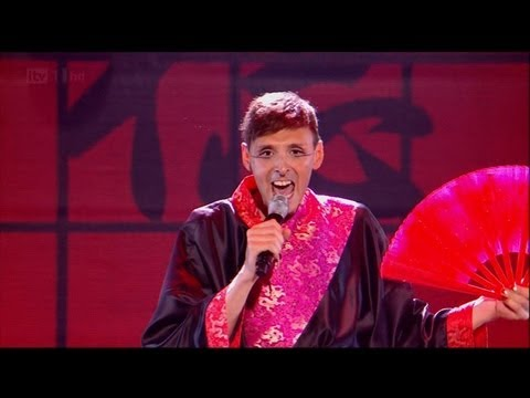 Johnny Robinson is ready for Kylie Minogue - The X Factor 2011 Live Show 2 (Full Version)