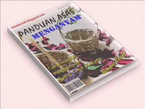eBook PANDUAN MENGANYAM BAKUL TELUR ROTAN