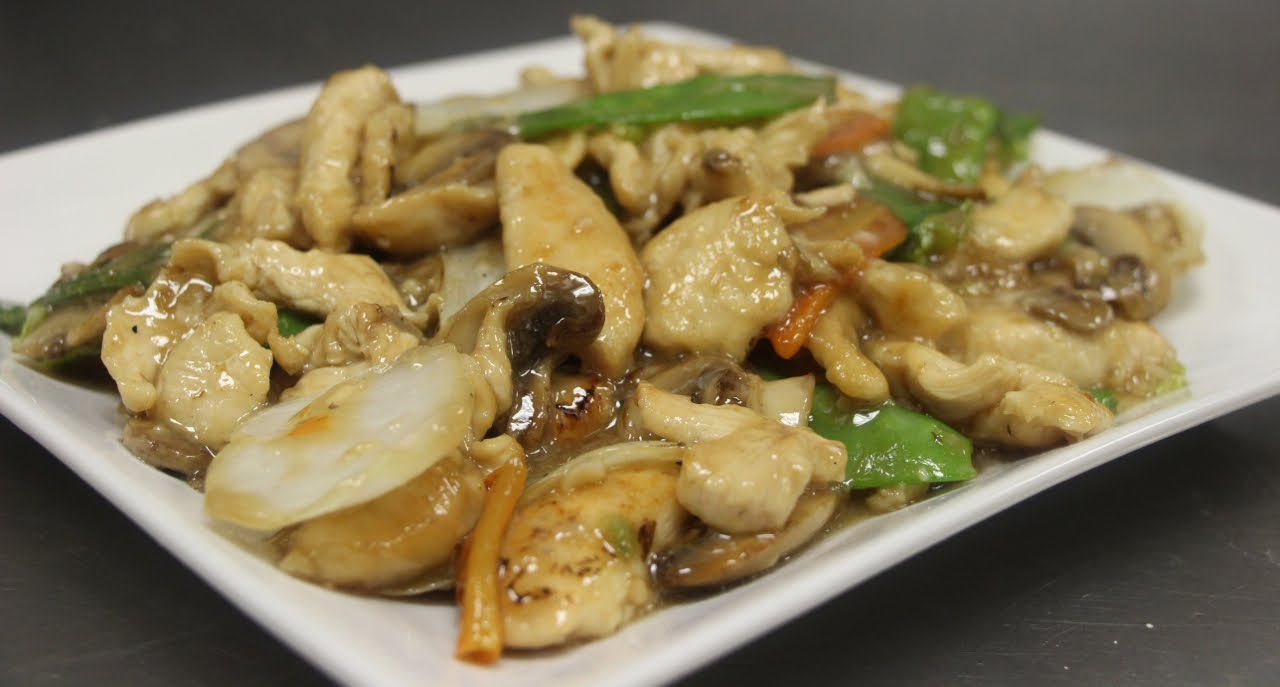 How to Make Moo Goo Gai Pan (Chicken w/ Mushrooms), 2 methods: stir ...