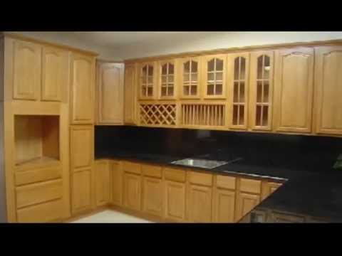 Kerala Style Wooden Kitchen Cabinets Youtube