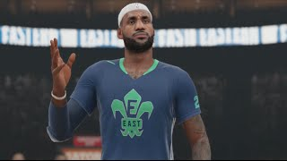 NBA 2k15 PS4 All Star Weekend All Star Game Ft. Lebron