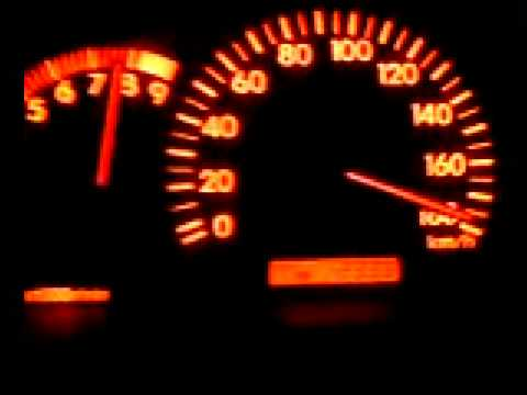Разгон Toyota Corolla Fielder с двигателем 2ZZ-GE от 0-180 км/ч