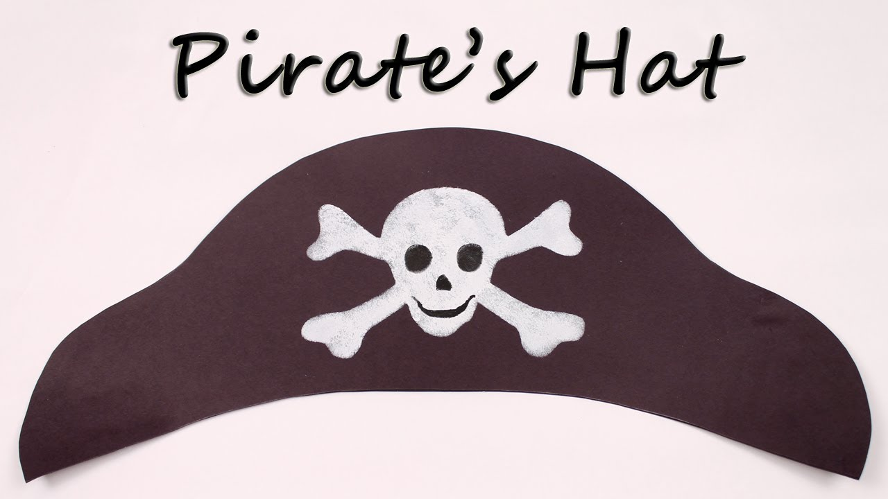 how to make a paper pirate hat youtube