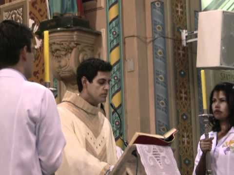 Posse do Pe. Ronaldo Miguel como 21º pároco da Catedral - 2011