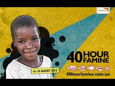 Help Fight Global Hunger with the 40 hour Famine