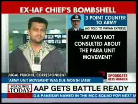 Spookgate: Movement of para unit was scheduled 1 month later, says ex-IAF chief