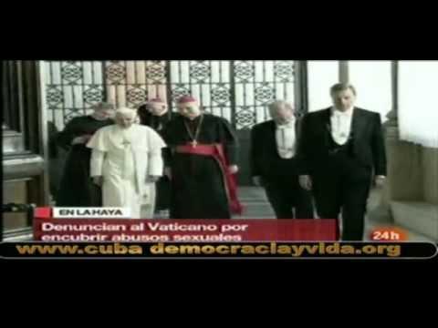 Vaticano denunciado por encubrimiento de violaciones y abusos sexuales contra niños.