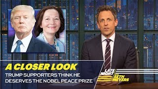 Trump Supporters Think He Deserves the Nobel Peace Prize: A Closer Look