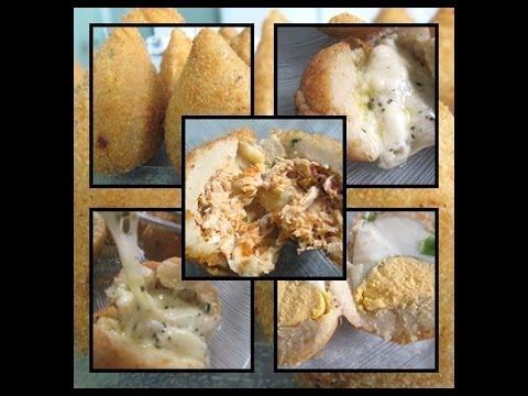 Coxinha de Frango,Bolinha de Queijo,Bolinha de Ovo da Déby & Ian :)