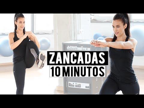 Tonificar glúteos y piernas con zancadas - 10 minutos
