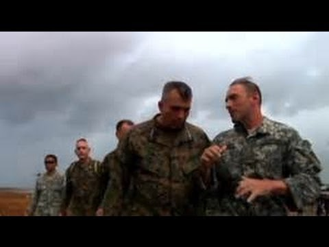 Commander Of U.S. Military Aid In Philippines Tours Operations Center