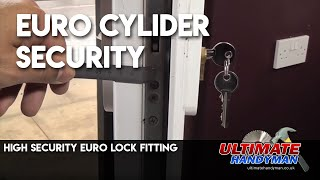 ABS secure euro cylinder