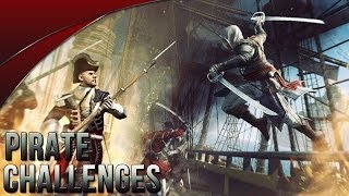 Assassin's Creed 4 Pirate Abstergo Challenges
