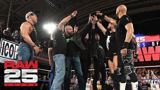 """D-Generation X and Scott Hall share a """"Too Sweet"""" moment with The Bálor Club: Raw 25, Jan. 22, 2018"""