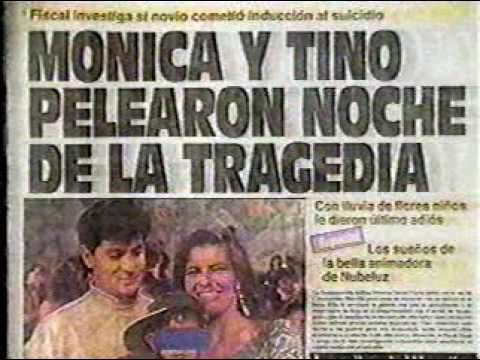 Noticia muerte de Monica