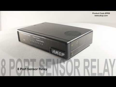AKCess Pro. 8 Port Sensor Relay 360 View