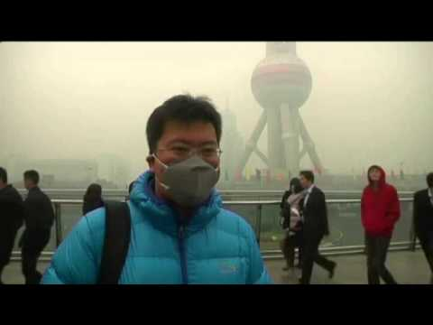 CHINA SHANGHAI POLLUTION (Shanghai's air pollution hits record high)