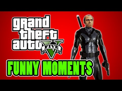 GTA 5 Funny Moments With Creepy (GTA 5 Online Funny Moments)