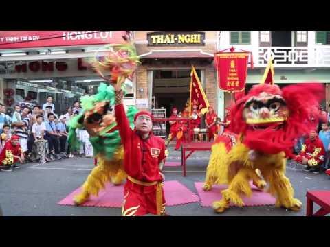 Đoàn lân sư rồng Thái Nghi Đường (Trung thu 2015)