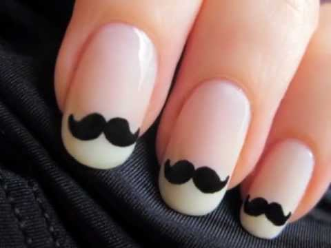 Movember Moustache Nails, ♡⋅•⋅⋅•⋅♥⋅•⋅⋅•⋅{CLICK FOR MY INSPIRATION & PRODUCTS}⋅•⋅⋅•⋅♡⋅•⋅⋅•⋅♥ ♡ Add me on Facebook! ♥ facebook.com/cutepolish ♡ Cutepolish's Commentary ♥ The highest req...