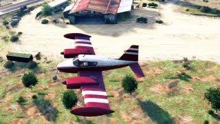 GTA 5 #09: Fugindo De Avião & Buggy De Areia Detonado