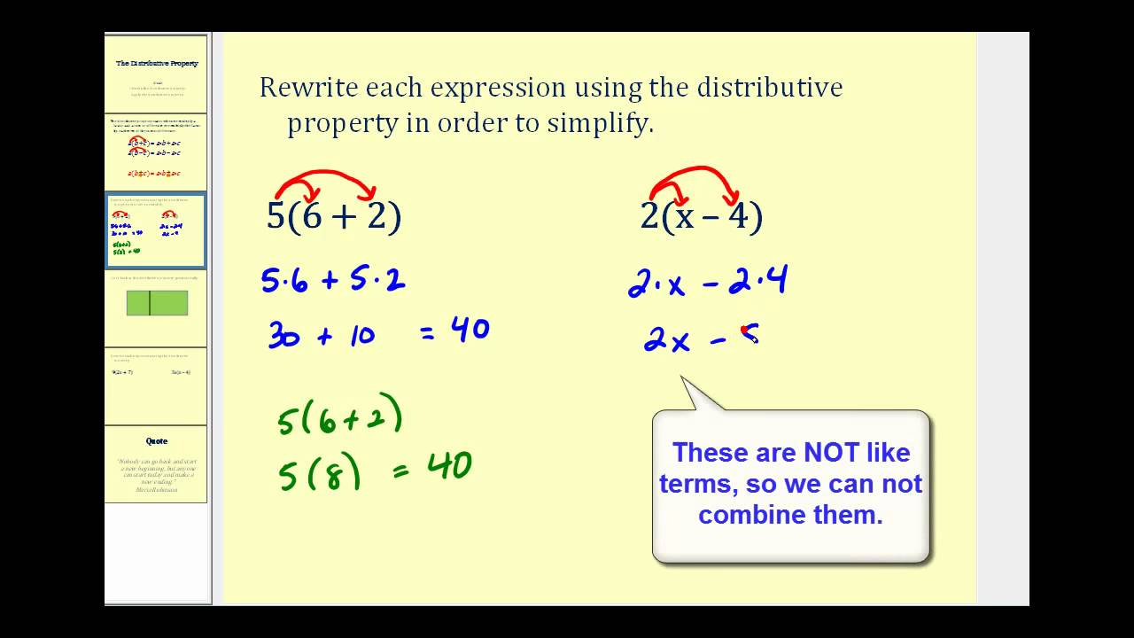 free math worksheets distributive property 5th grade understanding the distributive property. Black Bedroom Furniture Sets. Home Design Ideas