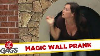 Skrytá kamera - Dieťa zmizne v stene