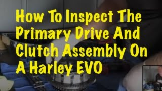 Harley Primary Chain Replacement: Part 4 Inspecting The
