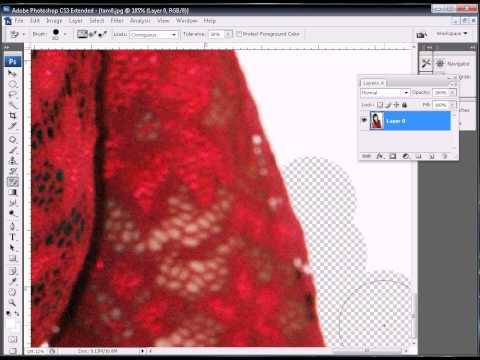 Photoshop CS3 - Phan 4 - Bai 7 - Ky thuat tron nen ghep anh nen trang