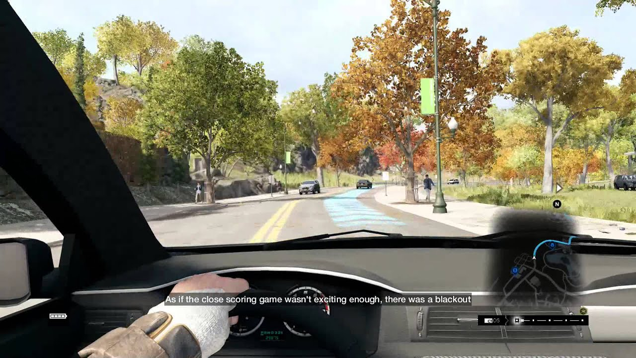 Watch Dogs First Person Driving