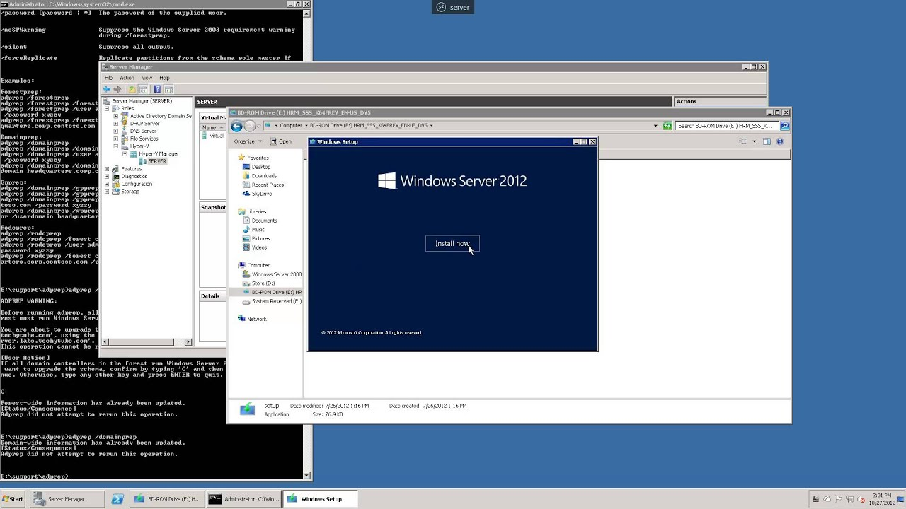 how to join windows 7 to a domain server 2008