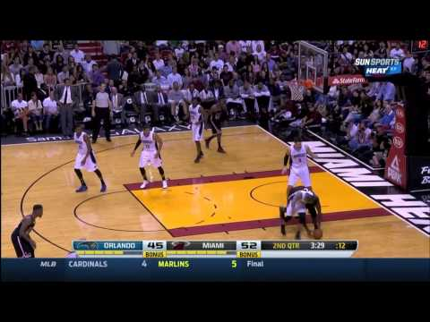 March 01, 2014 - Sunsports - Game 56 Miami Heat Vs Orlando Magic - Win (42-14)(Game Highlights)