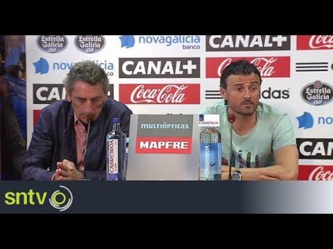 Luis Enrique explains Celta exit