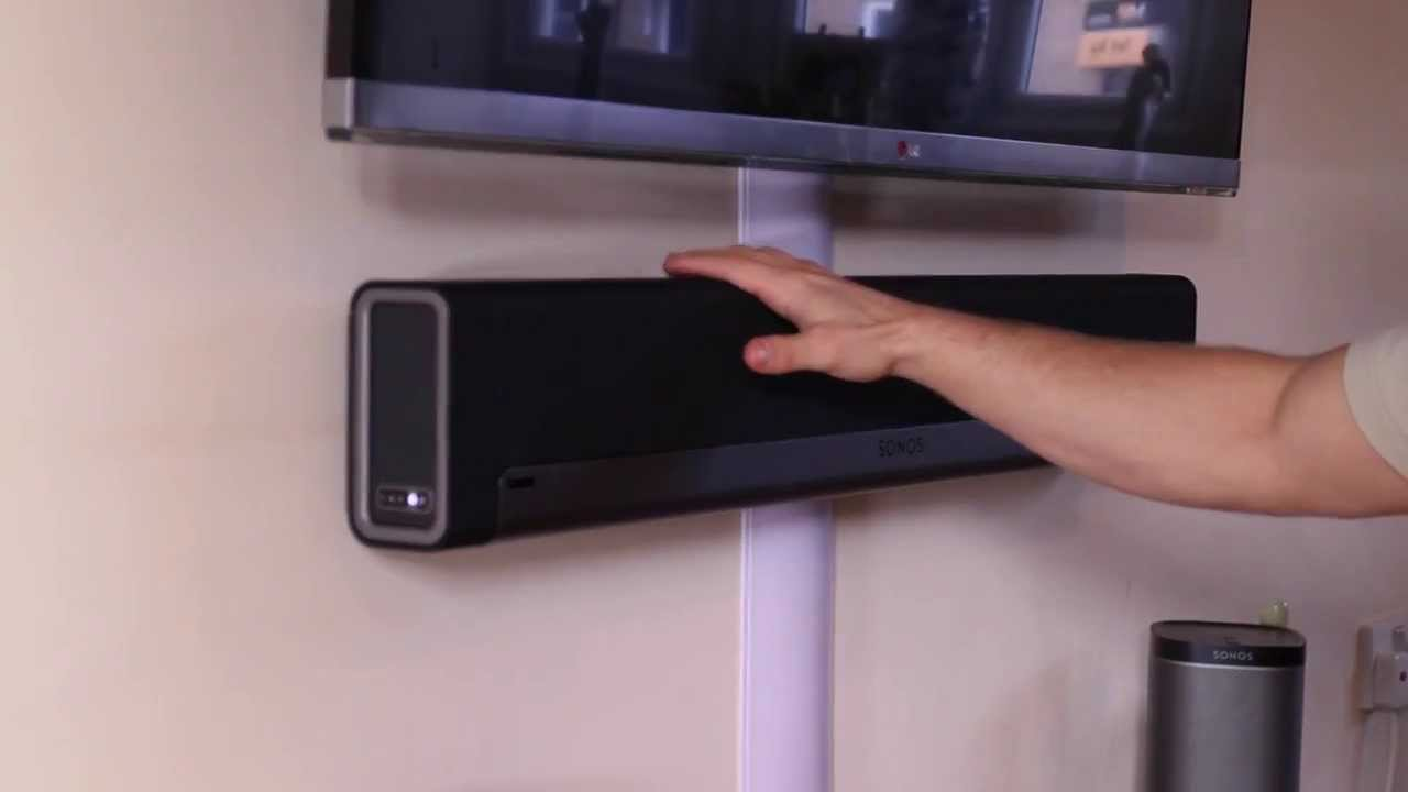 Sonos Playbar & Mount Review - YouTube